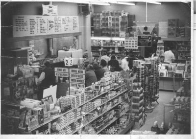 Main Street Snack Bar 1970